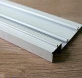Capa de aluminio del polvo del perfil, rotura termal, anodizando, polaco de plata