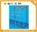 Présentoir de métaux lourds élevé de pompe à crémaillère d'étalage, à moteur ou à eau