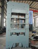 Type de bâti en caoutchouc automatique plaque vulcanisant la machine de presse hydraulique