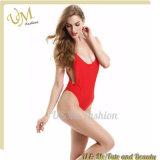 Swimsuit Swimwear купальных костюмов сексуальных женщин отрезока низкого уровня красный