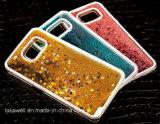 중국 도매 3D PC Samsung 은하 J2/J5/J7 유사 셀룰라 전화 덮개 케이스를 위한 액체 별 모래 전화 상자