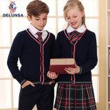 England-Schuluniform-Strickjacke-Fabrik-Hauptkinder konstant