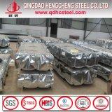 Tuile de toiture ondulée en métal de zinc en aluminium d'Aluzinc