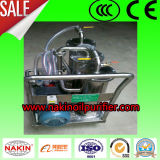 Portable Placa-Presionar el purificador de petróleo, máquina de la limpieza del petróleo