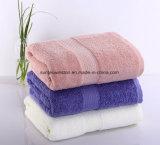100% algodón satinado de color sólido, toallas de baño