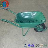 Carrinho de mão de roda durável do jardim do aço Wb3807 da venda quente