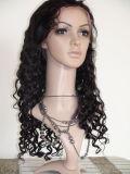 Парики 100% шнурка простирания шнурка бразильских волос девственницы полные