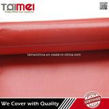 Rote Farben-wasserdichtes Kurbelgehäuse-Belüftung beschichtetes Gewebe für LKW-Deckel