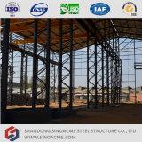 Vertiente ligera prefabricada de la planta de la estructura de acero