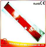 calefator da borracha de silicone do calefator do tambor do plástico & do metal de 125*1740*1.5mm