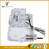 Exterior 8 Hilos 1*8 PLC Splitter SC Connector Optical Junction Box/Caja de Terminal FTTH