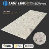 Le Quartz de marbre poli 20mm dalle de pierre pour comptoir de cuisine