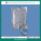 Устранимый мешок мочи/мешок дренажа с перекрестным клапаном