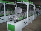 Macchina avvolgitrice di profilo del PVC di falegnameria con la casella di raschio del rivestimento
