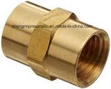 """Encaixe de mangueira de bronze dos metais, conetor, 1 """" farpa X 1 """" tubulação masculina"""