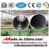Pipe d'alliage d'aluminium de fini de moulin