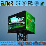 Un rendimiento estable P20 impermeable al aire libre a todo color de LED Tri-Screen Cartelera