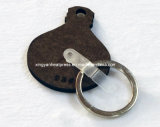 De Vorm Houten Keychain van de fles voor Levering voor doorverkoop van de Spaties van de Reclame de Zeer belangrijke