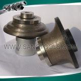 Roda de perfuração de diamante para granulação de moldagem