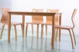 食事のためのレストランの家具の木製表そして椅子(FOH-NCP17)