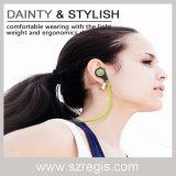 De nieuwe Hoofdtelefoon van Bluetooth van de Muziek van de Sporten van het in-oor Draadloze