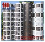 Papier der Aluminiumfolie-73GSM für Spiritus-Putzlappen