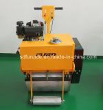 Diesel rodillo pedal vibratorio de un solo tambor para la venta (FYL-600C)