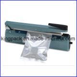 Máquina de venda quente da selagem de impulso da mão do aferidor do calor do saco de plástico/máquina selagem do saco de plástico