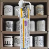 El papel higiénico del feliz cumpleaños limpia el tejido de cuarto de baño impreso aduana