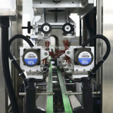 Automatischer Belüftung-Hülseshrink-Etikettiermaschine für Flaschen