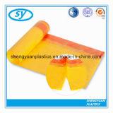Пластичный цветастый устранимый мешок отброса Drawstring