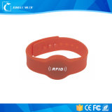 De passieve Waterdichte Band van de Pols van het Silicone RFID voor Overleg