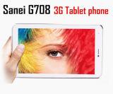 7 polegada Sanei G708 3G Dual Core Tablet PC Mtk8312 2g Bluetooth Chamando Mini PC