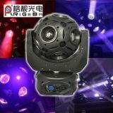 경제와 능률적인 12LEDs 15W RGBW 4in1 DMX 통제 LED 축구 광속 반점 이동하는 맨 위 빛