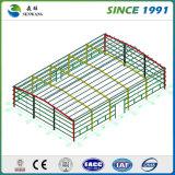 1000 metros cuadrados de almacén de la estructura de acero