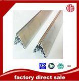 6063 perfil de aluminio del ángulo de la protuberancia de T5 T6 para la ventana y la puerta