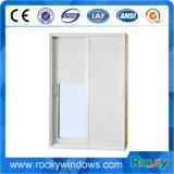 Ventana abatible de color gris oscilante abatible de aluminio con ventanas abatibles