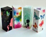 Kleines liebevolles Drucken-faltender Papierkasten für Lippenstift