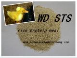 أرزّ بروتين وجهة لأنّ تغذية حيوانيّ مع [كمبتيتيف بريس]