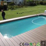 수영풀 Anti-Slip 홈이 있는 합성 Decking 지면