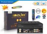 Azlink HD S1 FTA Vlc 미디어 플레이어와 DVB-S2 지원 WiFi와 리눅스 IPTV 수신기에 있는 터보 8psk 구조를 가진 PVR