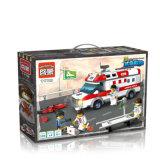 Stadt-Krankenwagen blockt Spielzeug für Kinder