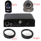 4CH Car DVR Recorder per Small Car, 3G/GPS/WiFi Remote Mobile DVR