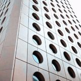المجلفن المعمارية الزخرفية مثقب شبكة معدنية