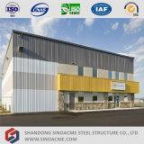 Edificio de la administración Pre-Dirigido con almacenaje de la estructura de acero