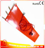 plastique de 125*1740*1.5mm et chaufferette en caoutchouc de silicones de chaufferette de tambour en métal