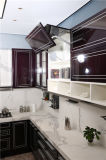 Nouveau modèle de luxe moderne Welbom haute brillance des armoires de cuisine