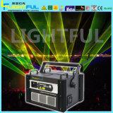 5W Licht van de Laser van de Laser van de Straal van de animatie het Lichte RGB Multi
