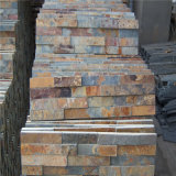 자연적인 녹스는 슬레이트 문화적인 돌 외부 장식적인 벽 돌