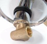 単一のレバーの黄銅によって隠されるシャワーのコック